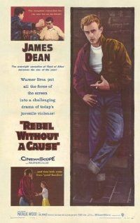 Icon James Dean is best known for his role in Rebel Without a Cause.