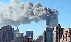 What do some conspiracy theorists think really happened on Sept. 11, 2001?