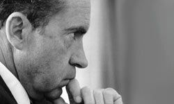 """Richard Nixon once told a political associate, """"If you can't lie, you'll never go anywhere."""""""