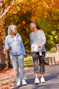 Walking as little as 10 minutes a day can make a tremendous difference for your heart health. See more heart health pictures.