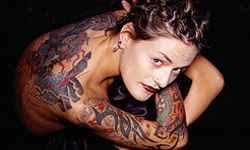 Tattoos finally went mainstream in the 1990s.