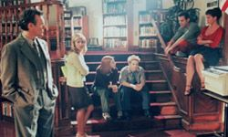 """The cast of 1990s classic television series """"Buffy the Vampire Slayer."""""""